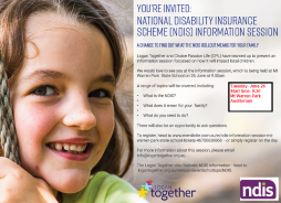 NDIS Information Session
